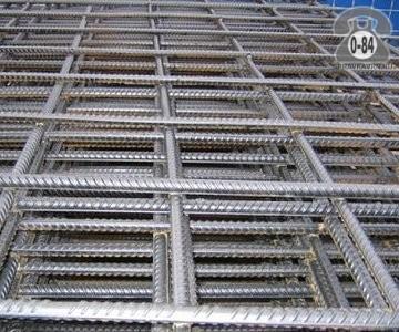 Сетка строительная дорожная сталь неоцинкованная