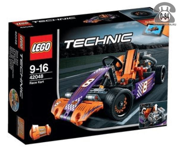 Конструктор Лего (Lego) Technic 42048 Гоночный карт, количество элементов: 345