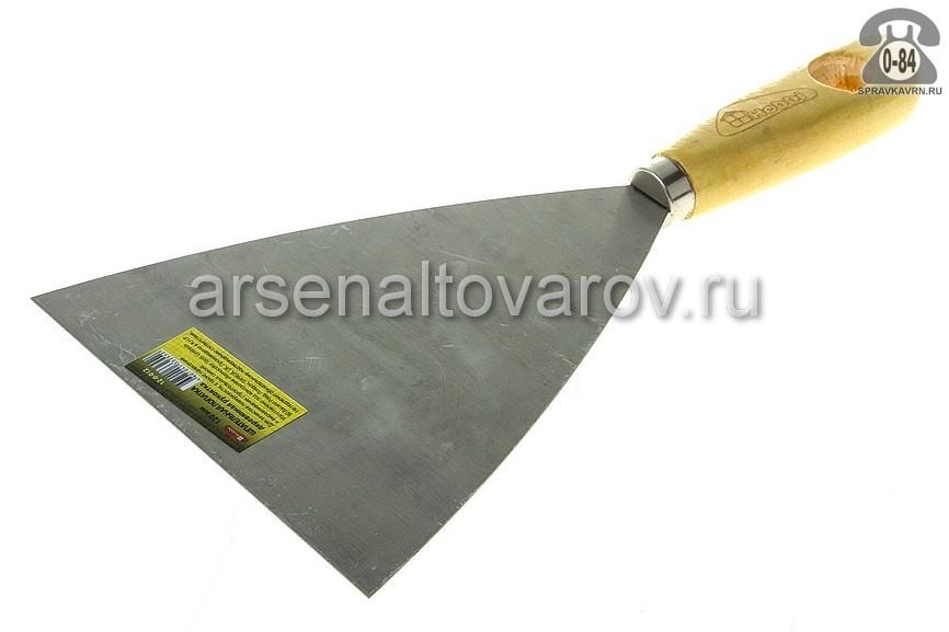 шпатель малярный стальной 120 мм Хобби (12-0-012)