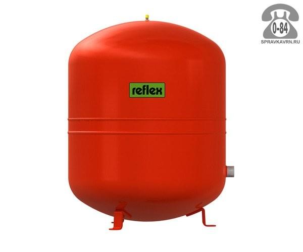 Бак мембранный Рефлекс (Reflex) для систем отопления красный