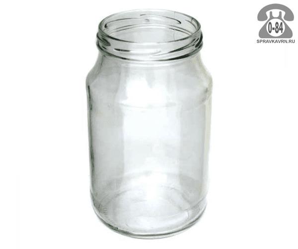Банка стеклянная Твист-82 стандартная 0.76 л