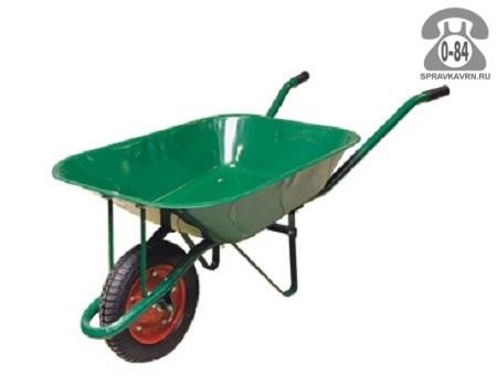 Тачка садовая Дарко 1-колёсная обычная 80 л сталь оцинкованная Китай