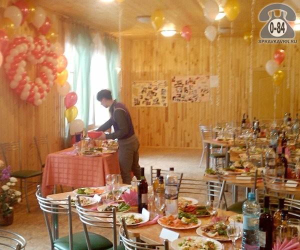 Банкетный зал 80 с питанием с обслуживанием аренда