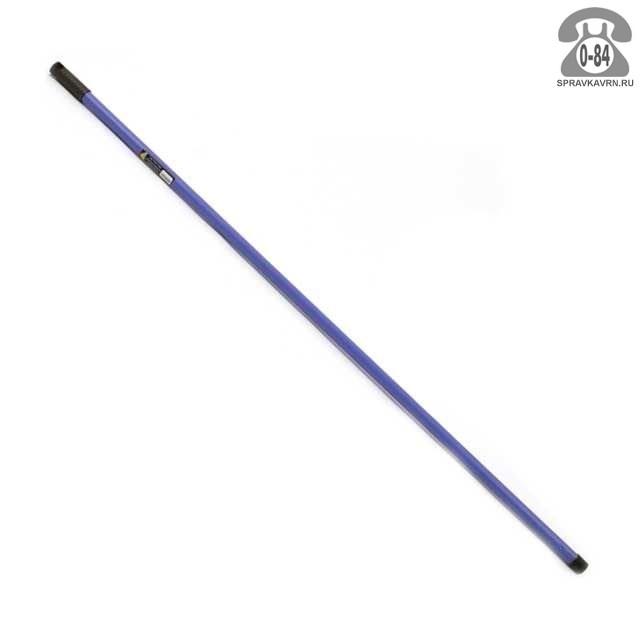 Черенок металл для метлы 1100 мм с ручкой пластик Россия