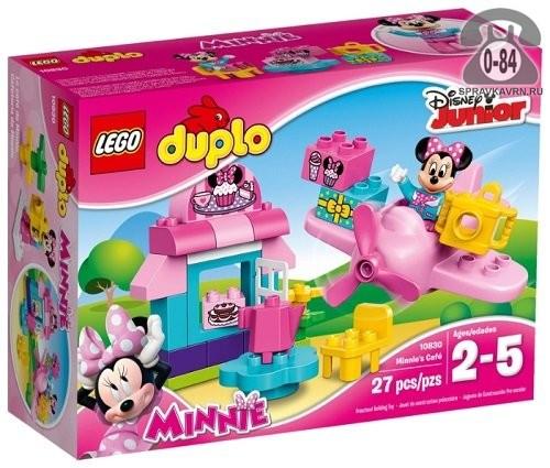 Конструктор Лего (Lego) Duplo 10830 Кафе Минни, количество элементов: 27
