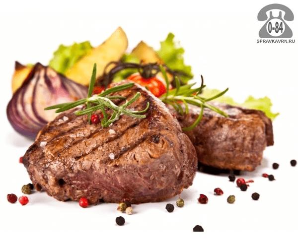 Вторые блюда Мясо на гриле мясо