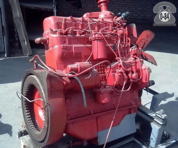 Двигатель трактора Д-65 Россия ремонт