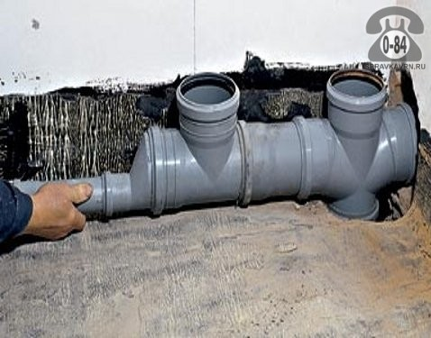 Монтаж пластиковой канализации своими руками