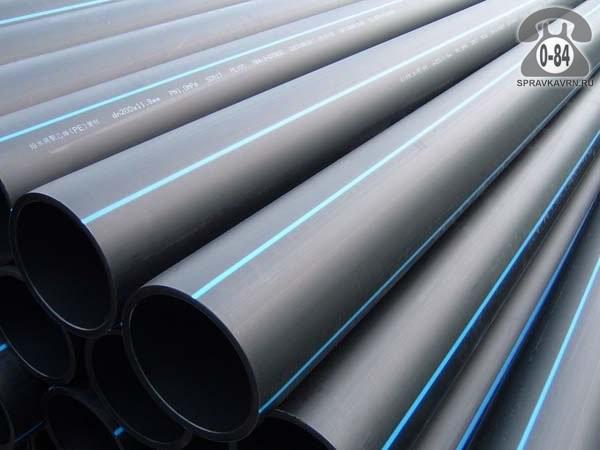 Полиэтиленовые трубы SDR 11 водопроводная из полиэтилена низкого давления (ПНД) 50 мм 4.6 мм Россия