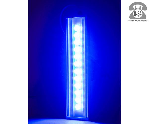 Светильник для архитектурной подсветки Эс-В-Т (SVT) SVT-ARH L-37-10x60-Blue