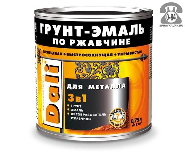 Грунт-эмаль Дали (Dali) Для металла 3 в 1
