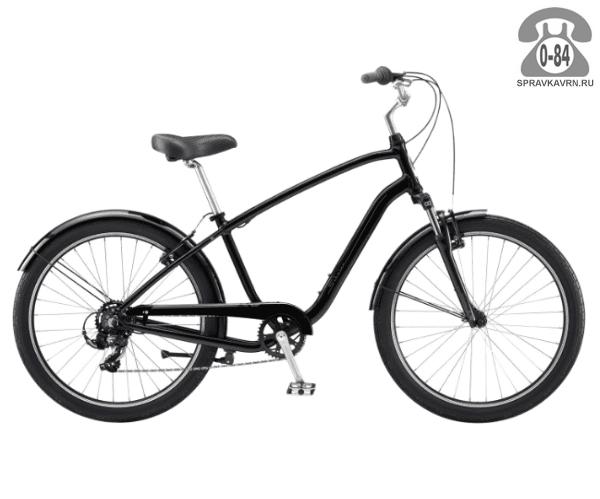 "Велосипед Швин (Schwinn) STREAMLINER 1 (2017) размер рамы 18.5"" черный"