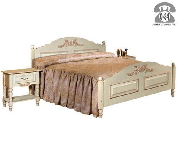 Кровати Фиерта 1.5-спальная массив дуба 1-ярусная (одноярусная) 2124 мм 995 мм 1000 мм Белоруссия