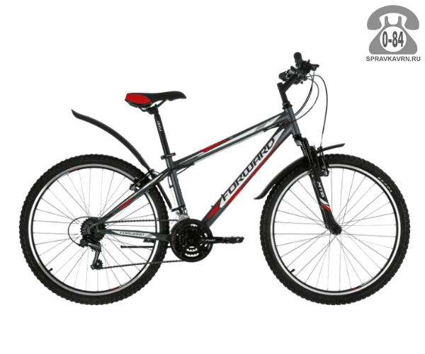 """Велосипед Форвард (Forward) Sporting 1.0 (2017) размер рамы 19.5"""" серый"""