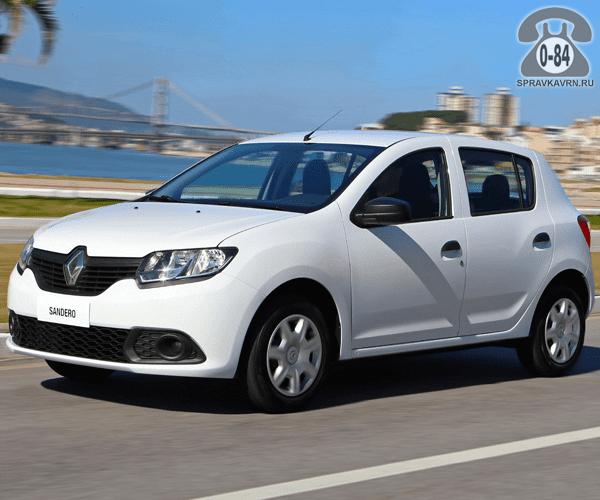 Крыло автомобиля легковой иномарка Рено (Renault) Сандеро (Sandero)