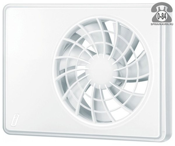 Вентилятор бытовой Вентс (Vents) iFan 100 100 мм белый