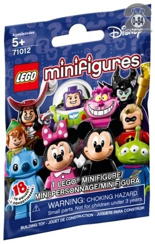 Конструктор Лего (Lego) Collectable Minifigures 71012 Герои Диснея