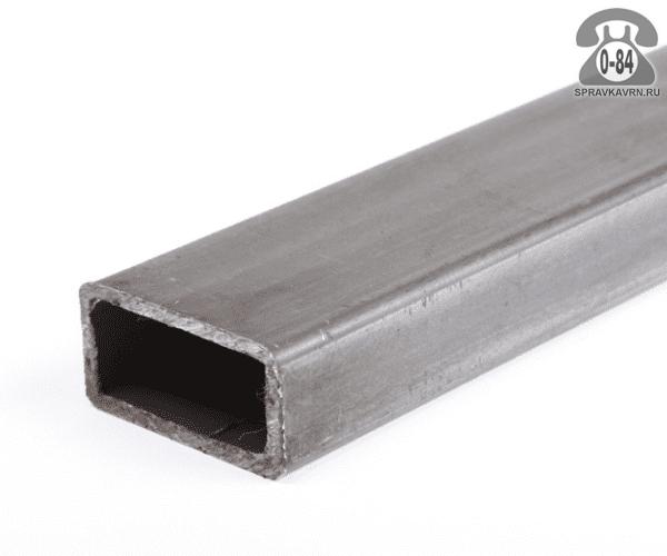 Профильные стальные трубы 40*20 2 мм 3 м резка