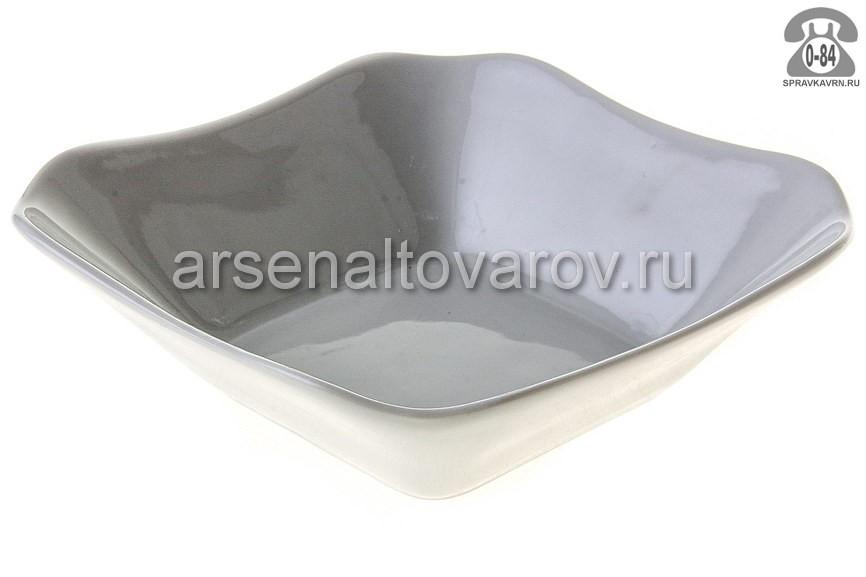 Салатник Добрушский фарфоровый завод Белье 6С0053