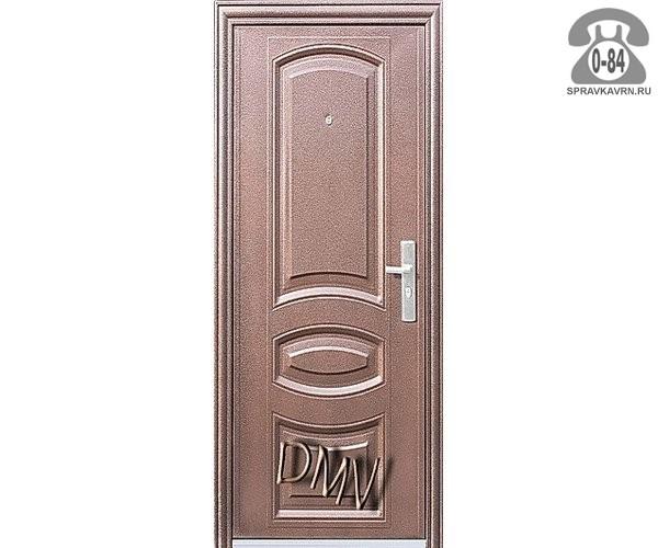 металлические двери 760