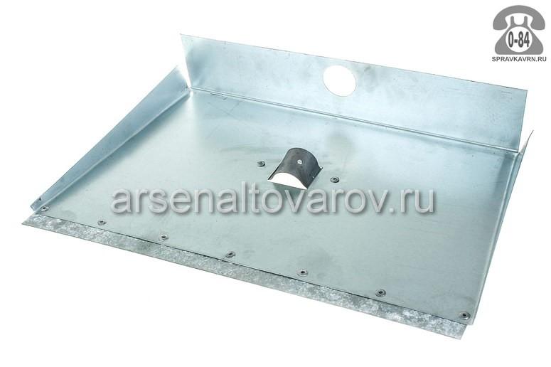 Лопата Трехбортная снеговая (снегоуборочная) без черенка 375x500 мм
