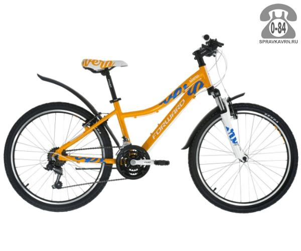 "Велосипед Форвард (Forward) Rivera 1.0 (2017) размер рамы 14"" желтый"