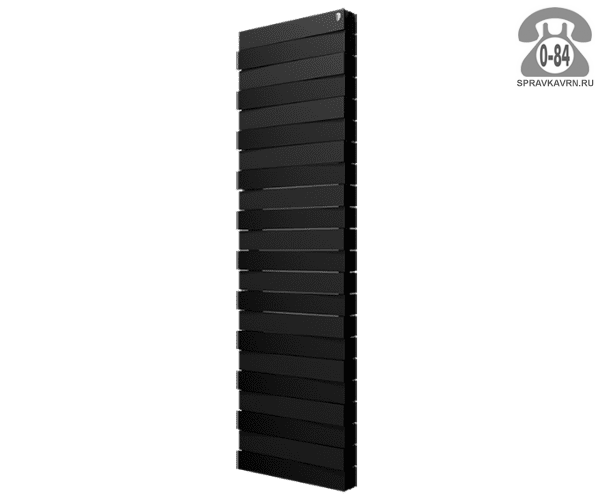 Радиатор отопления биметаллический Роял Термо (Royal Thermo) PianoForte Tower/Noir Sable 591x1457 мм