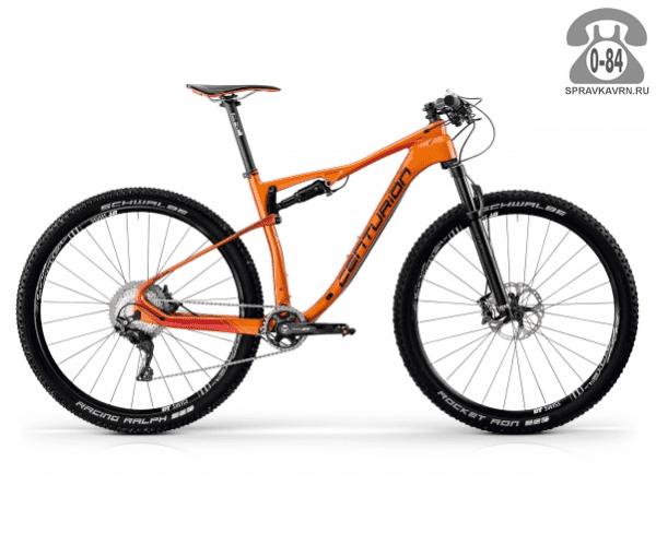 """Велосипед Центурион (Centurion) Numinis Carbon XC 3000.29 (2017) размер рамы 19.5"""" оранжевый"""