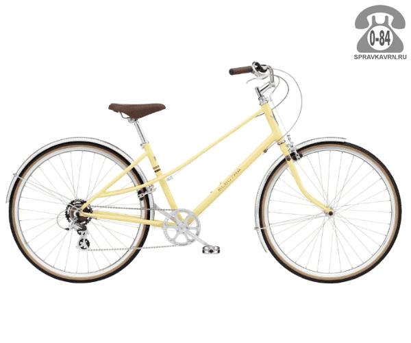 Велосипед Электра (Electra) Ticino 7D Ladies (2016) желтый