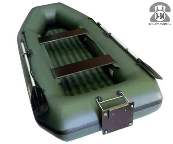 Лодка надувная Hunterboat Хантер 300 ЛТН, зеленый 300052