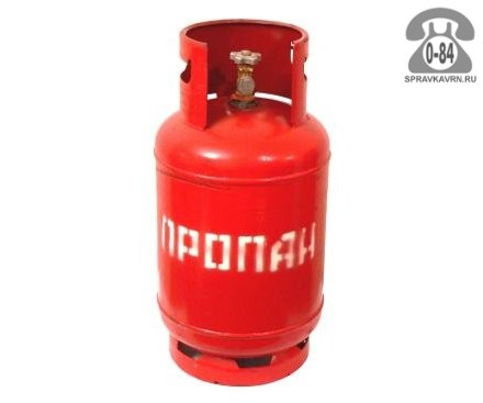 Баллон для газа пропан-бутан (бытовой) 27 л металл