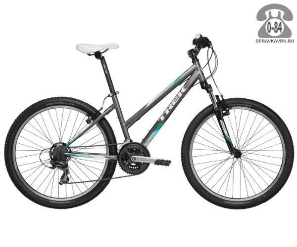 """Велосипед Трек (Trek) 820 WSD (2016), рама 20"""" размер рамы 20"""" серый"""
