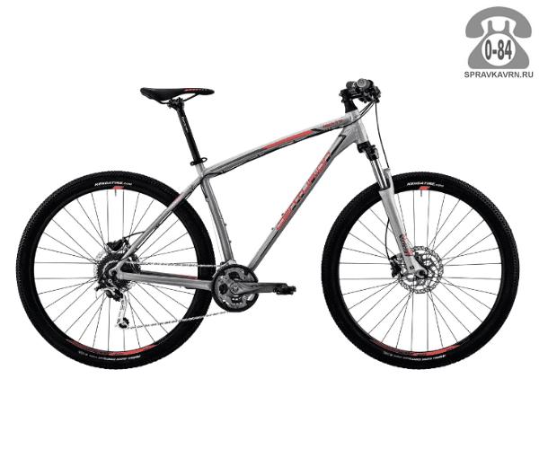 "Велосипед Центурион (Centurion) Backfire Pro 600.29 (2017) размер рамы 19.5"" серый"