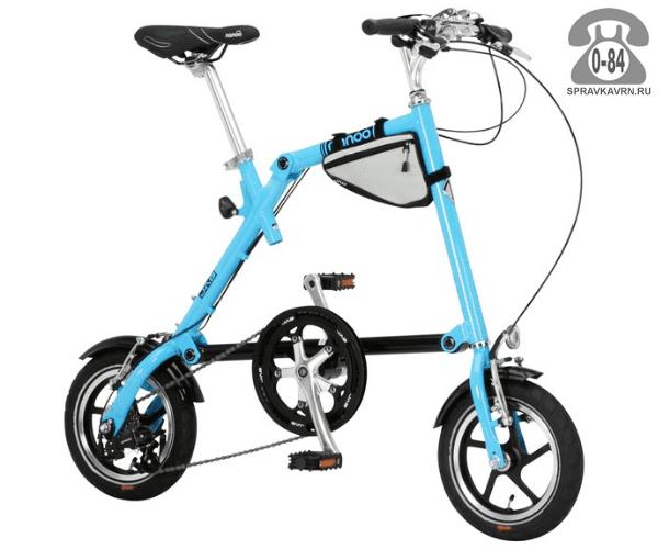 Велосипед Нэну (Nanoo) 127 (2016), синий