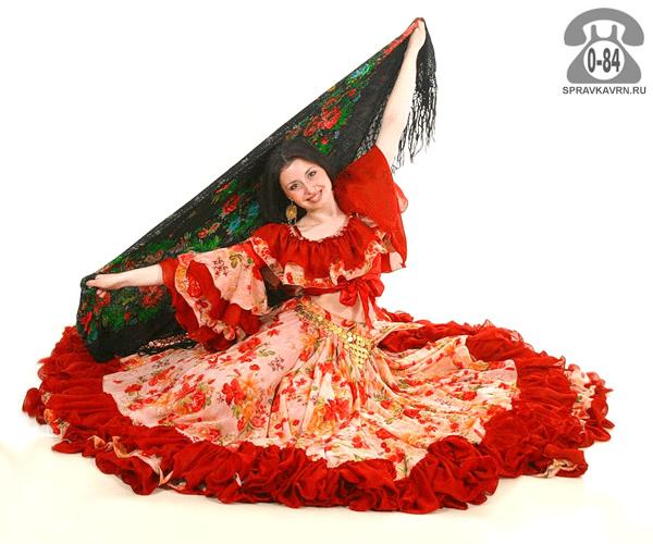 Костюм сценический цыганский народный (национальный) пошив (изготовление на заказ)