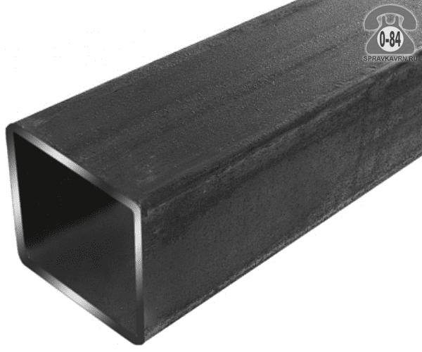 Профильные стальные трубы 80*80 3 мм 3 м