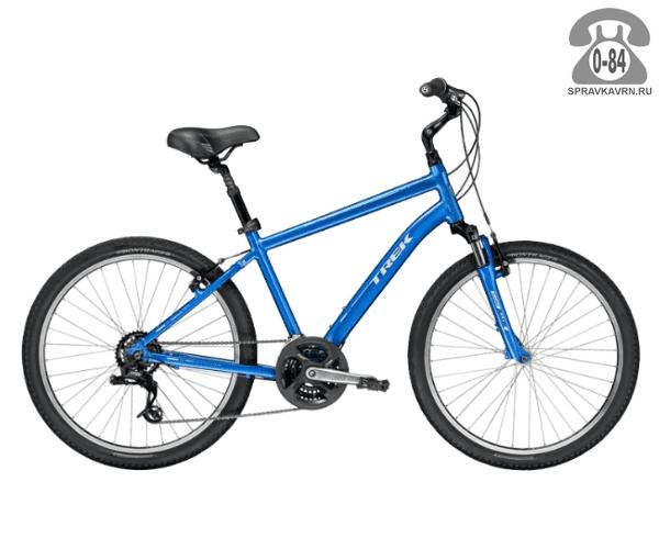 "Велосипед Трек (Trek) Shift 2 (2016), рама 15"", синий размер рамы 15"" синий"