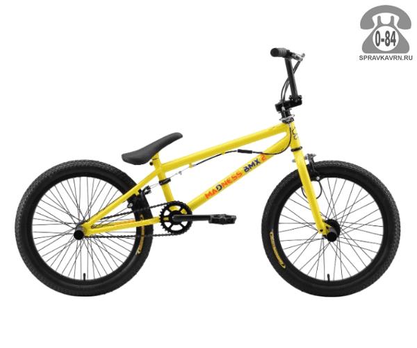 Велосипед Старк (Stark) Madness BMX 2 (2017), желтый