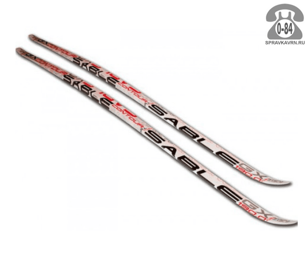 Лыжи Сабле (Sable) беговые 190 см прогулочные универсальный деревянный