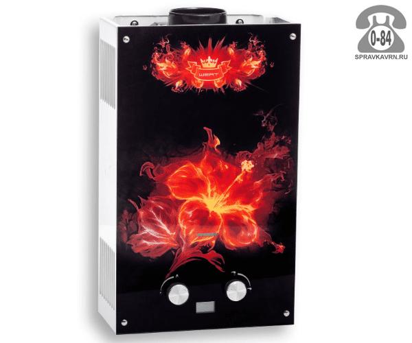 Газовая колонка Верт (Wert) 10EG 20 кВт 10л/мин открытая камера
