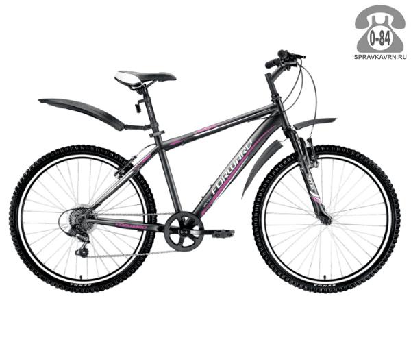 "Велосипед Форвард (Forward) Flash 2.0 (2017) размер рамы 16"" черный"