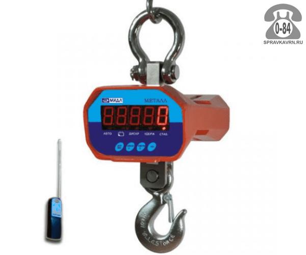 Весы крановые К 3000 ВРДА Металл 1