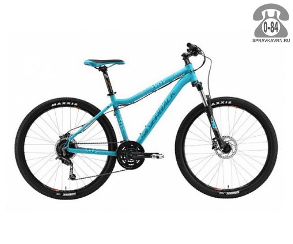 """Велосипед Сильвербэк (Silverback) SPLASH 2 (2016) размер рамы 16.5"""" голубой"""