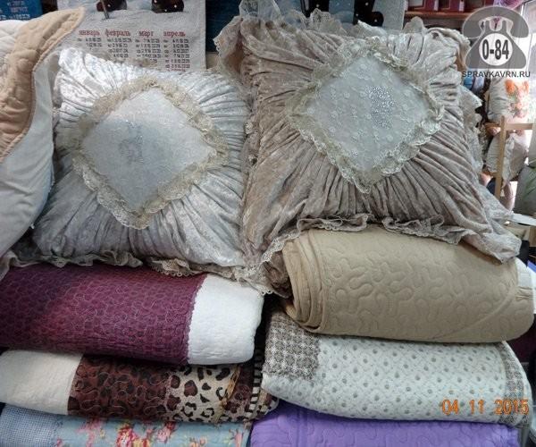 Подушка поплин (бязь) полиэфир (полиэфирное волокно) 70 см 50 см