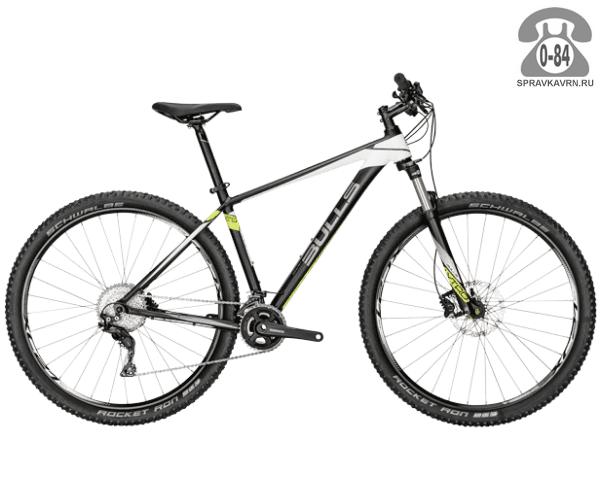 """Велосипед Буллс (Bulls) COPPERHEAD 29 LT (2016), черный размер рамы 20.5"""" черный"""