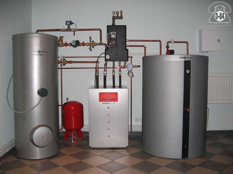 Нержавеющий накопительный теплообменник наотходящих газах газомасляный теплообменник
