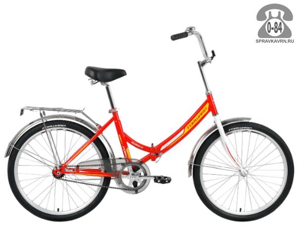 "Велосипед Форвард (Forward) Valencia 1.0 (2017) размер рамы 16"" красный"