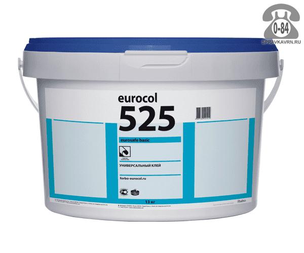 Клей Форбо (Forbo) Eurocol 525 Eurostar Basic универсальный 13кг
