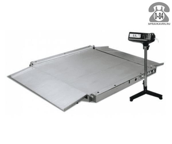 Весы товарные 4D-LA.S-2-1000 платформа 1000*1000мм 1000кг точность 200г