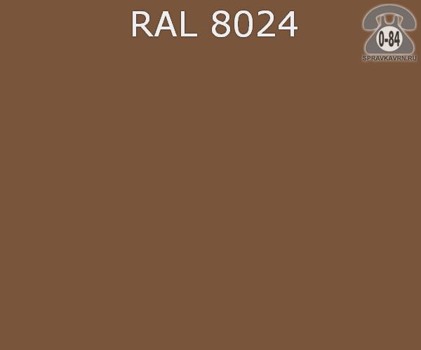 Краска порошковая ФэйХонг (FeiHong) полиэфирная бежево-коричневый RAL 8024 Китай